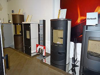 Ausstellung Kaminöfen und Pelletöfen - wolget.de